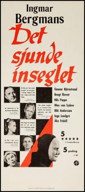 DET SJUNDE INSEGLET - Swedish Poster 2